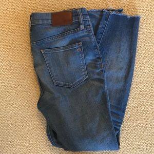 High-Waisted Madewell Jeans